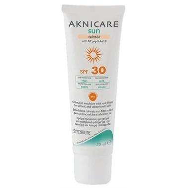 Synchroline Synchroline Aknicare Sun Teintee Dore SPF30 50ml Renksiz